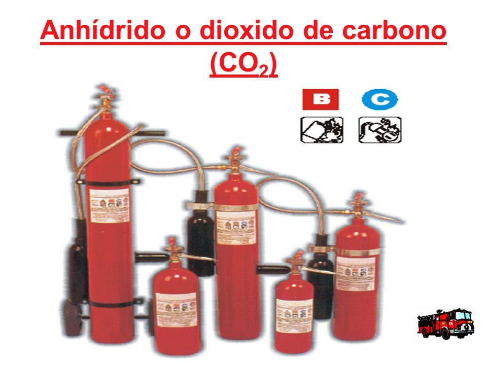 Anhídrido o dioxido de carbono (CO2)
