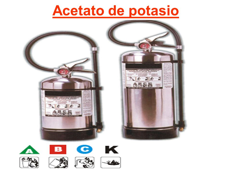 Acetato de potasio
