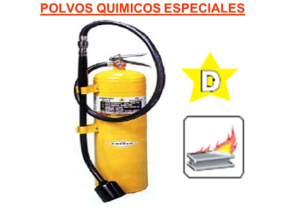 POLVOS QUIMICOS ESPECIALES