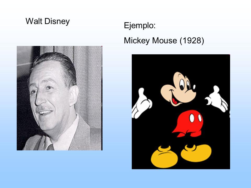 Walt Disney Ejemplo: Mickey Mouse (1928)