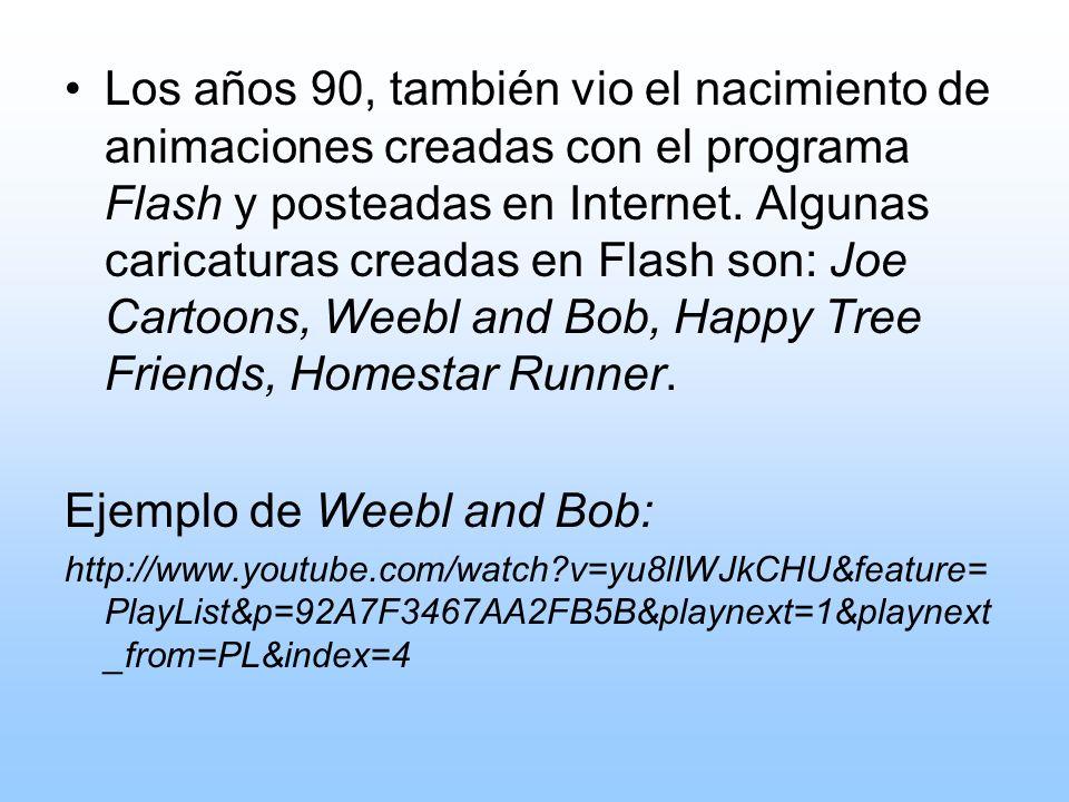 Ejemplo de Weebl and Bob: