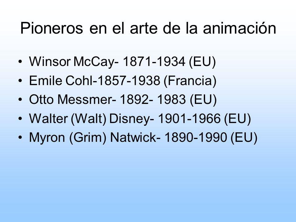 Pioneros en el arte de la animación