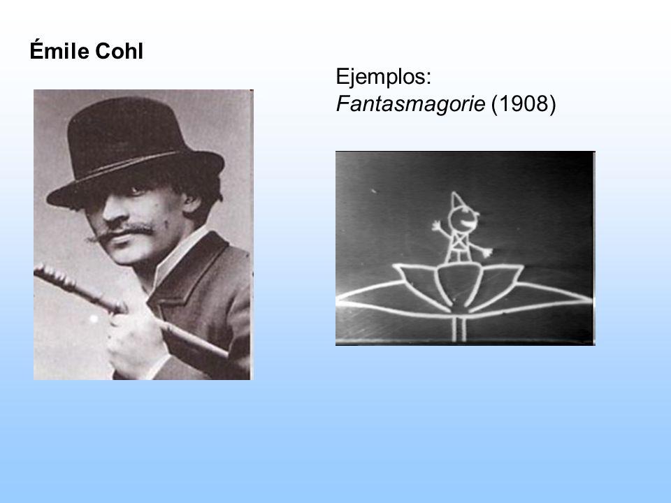 Émile Cohl Ejemplos: Fantasmagorie (1908)