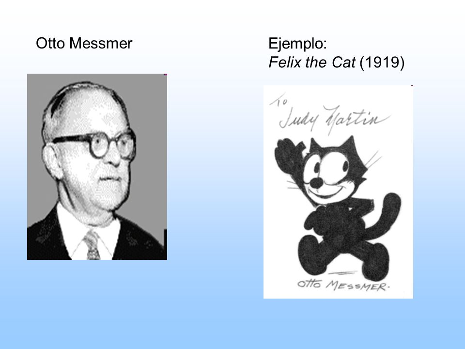Otto Messmer Ejemplo: Felix the Cat (1919)