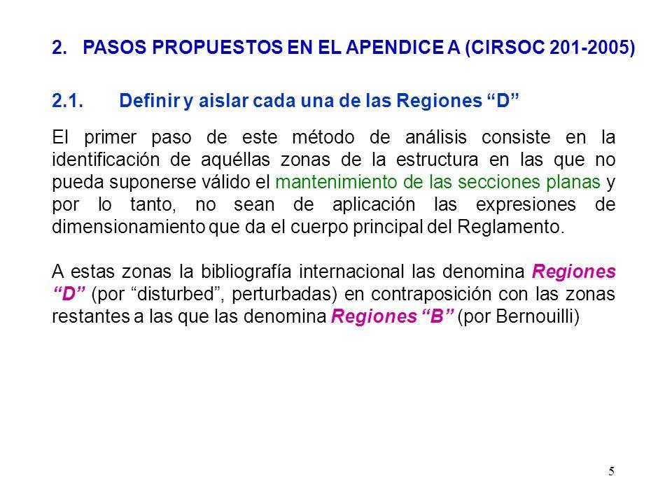 2. PASOS PROPUESTOS EN EL APENDICE A (CIRSOC 201-2005)