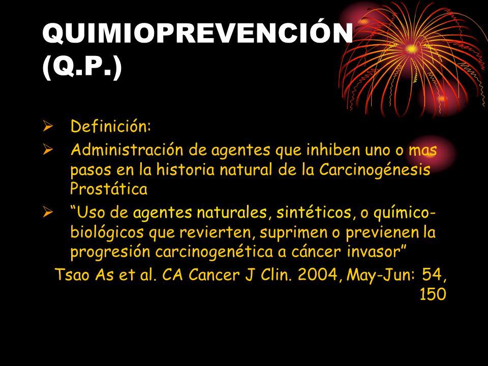 QUIMIOPREVENCIÓN (Q.P.)