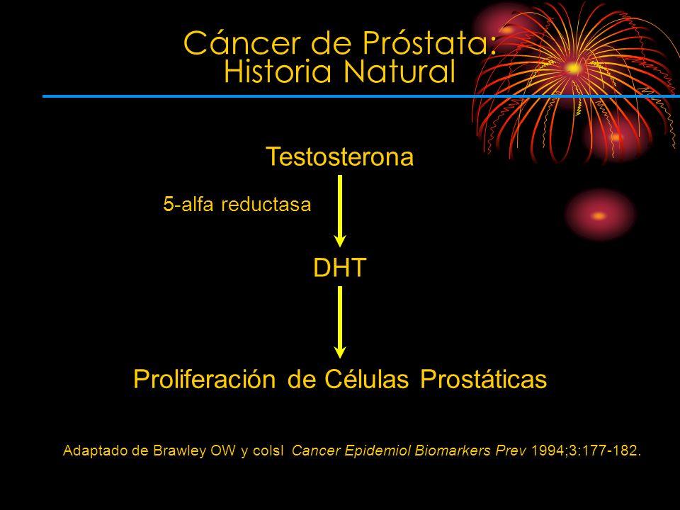 Cáncer de Próstata: Historia Natural