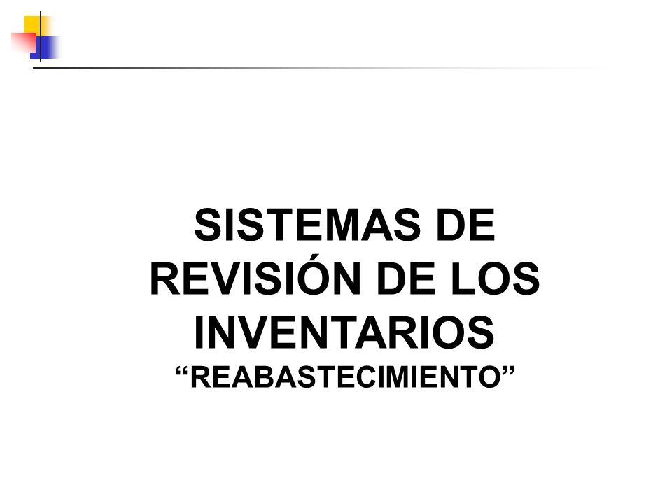 SISTEMAS DE REVISIÓN DE LOS INVENTARIOS