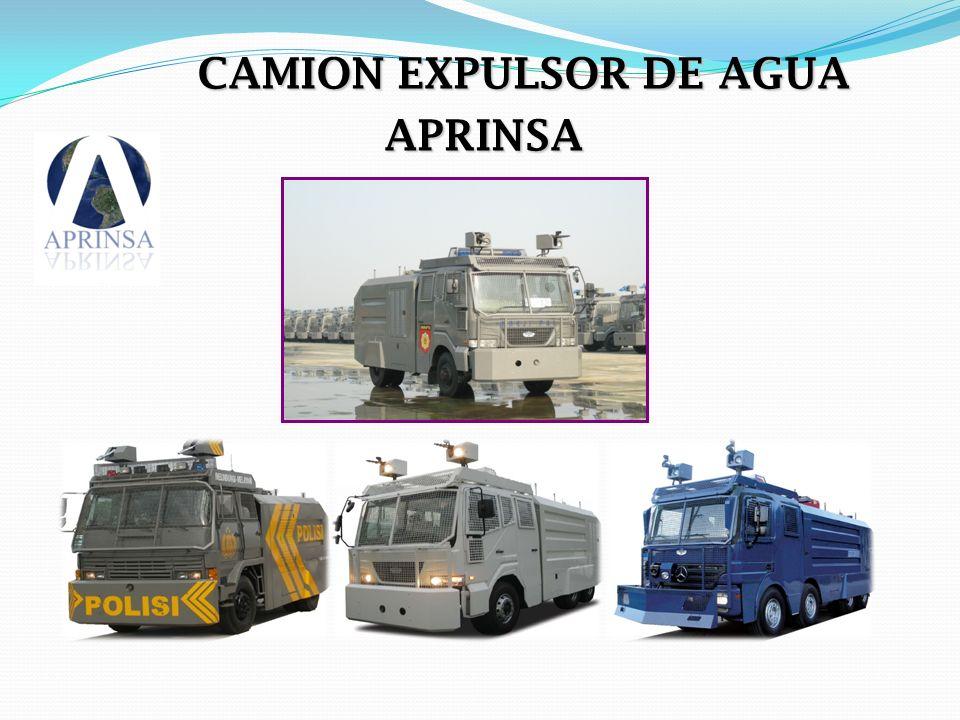 CAMION EXPULSOR DE AGUA