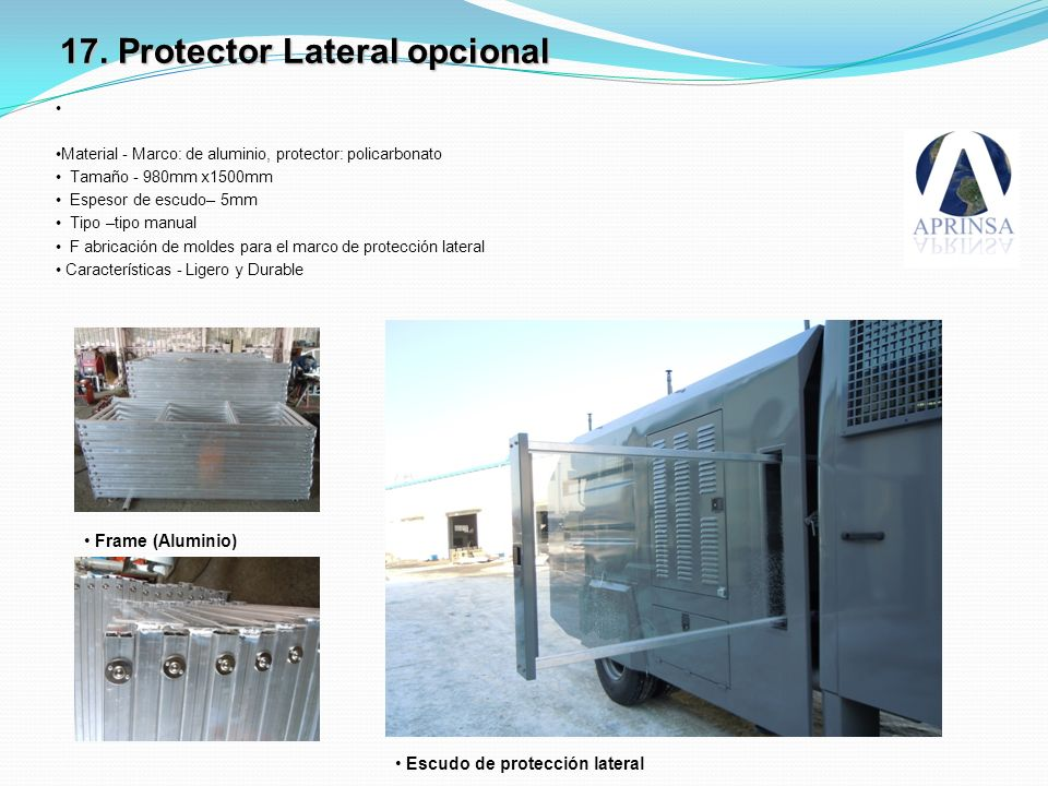 17. Protector Lateral opcional