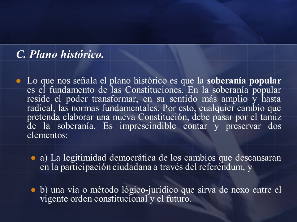 C. Plano histórico.
