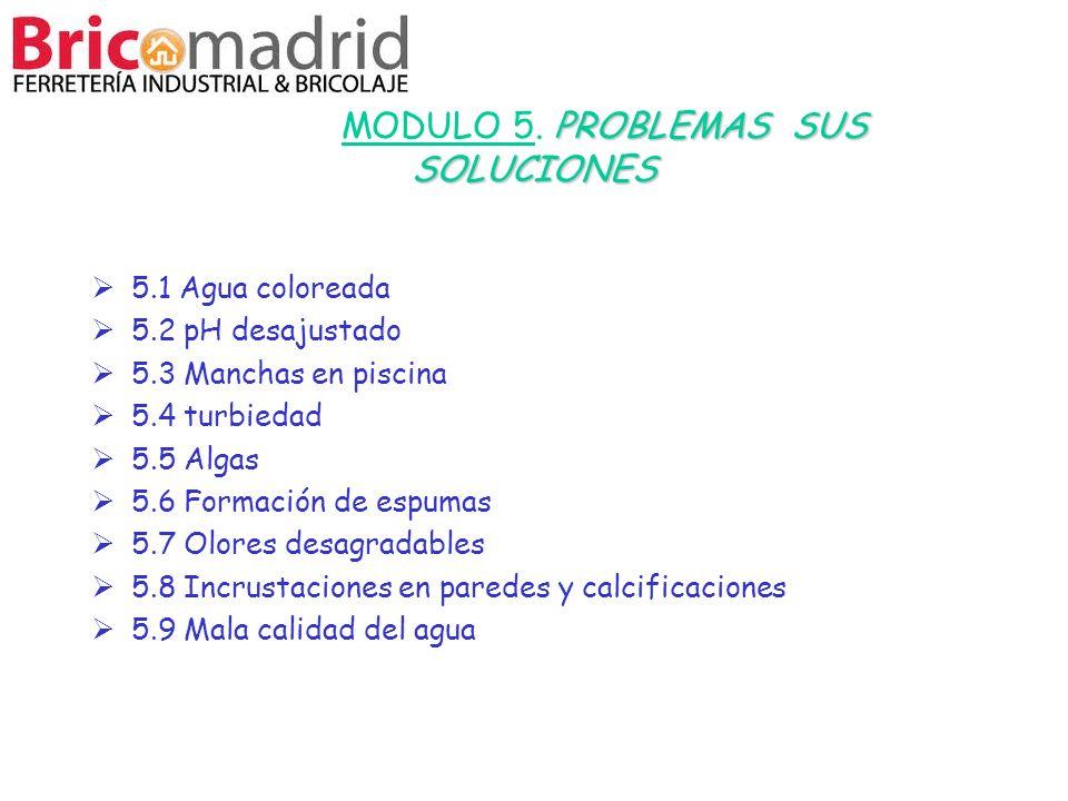 MODULO 5. PROBLEMAS SUS SOLUCIONES