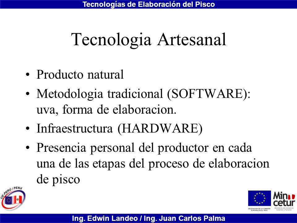 Tecnologia Artesanal Producto natural