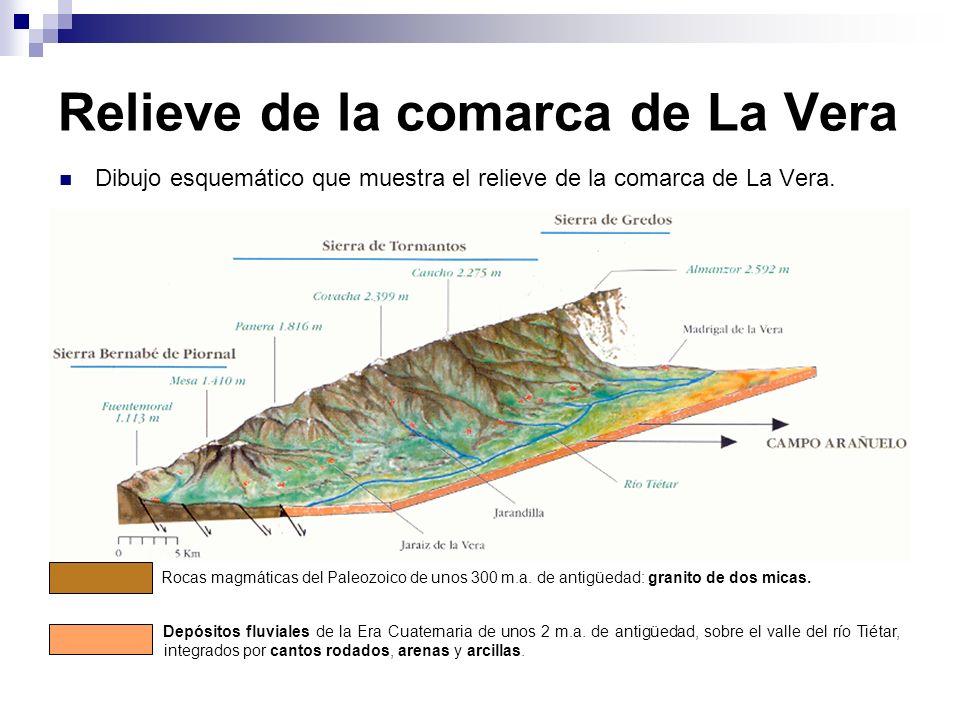 Relieve de la comarca de La Vera