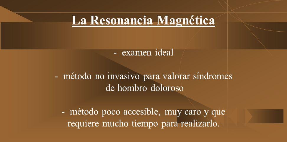 La Resonancia Magnética