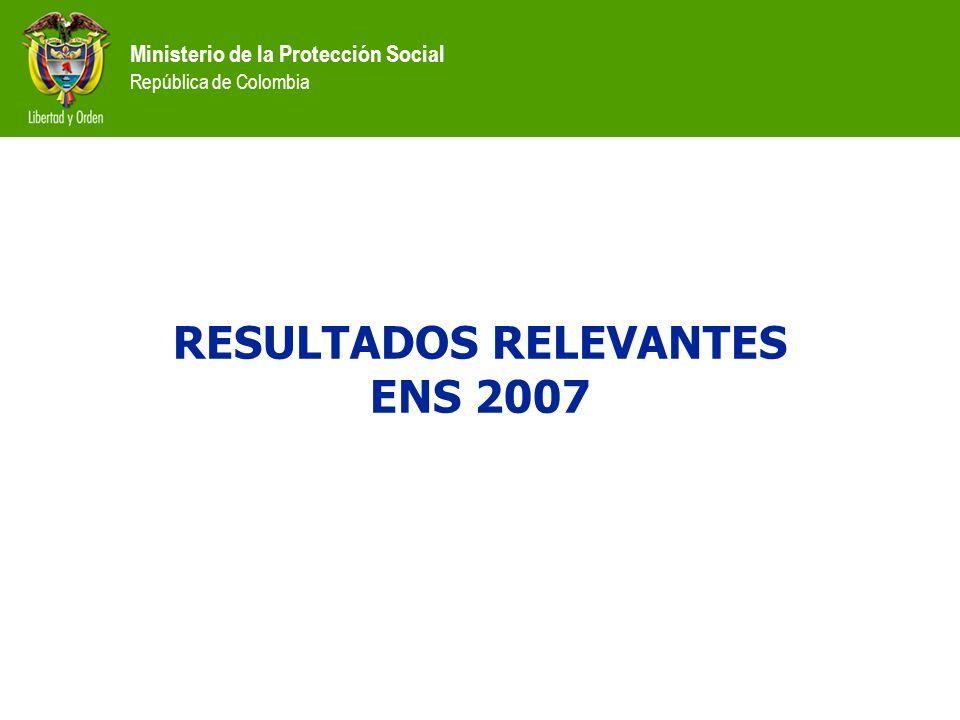 RESULTADOS RELEVANTES ENS 2007