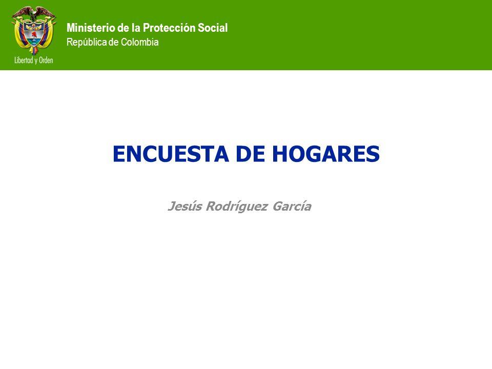 ENCUESTA DE HOGARES Jesús Rodríguez García