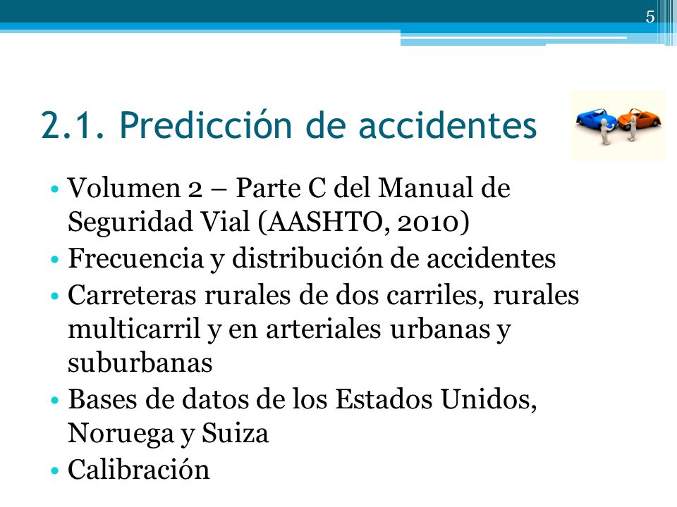 2.1. Predicción de accidentes