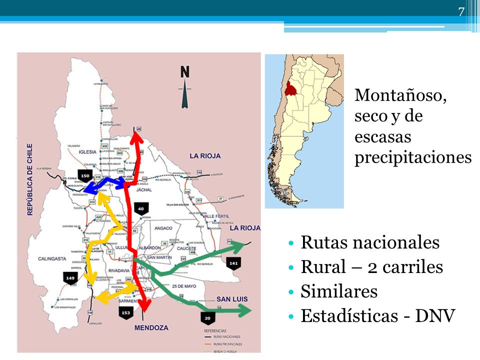 Rutas nacionales Rural – 2 carriles Similares Estadísticas - DNV
