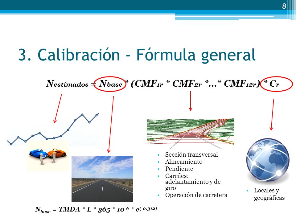 3. Calibración - Fórmula general