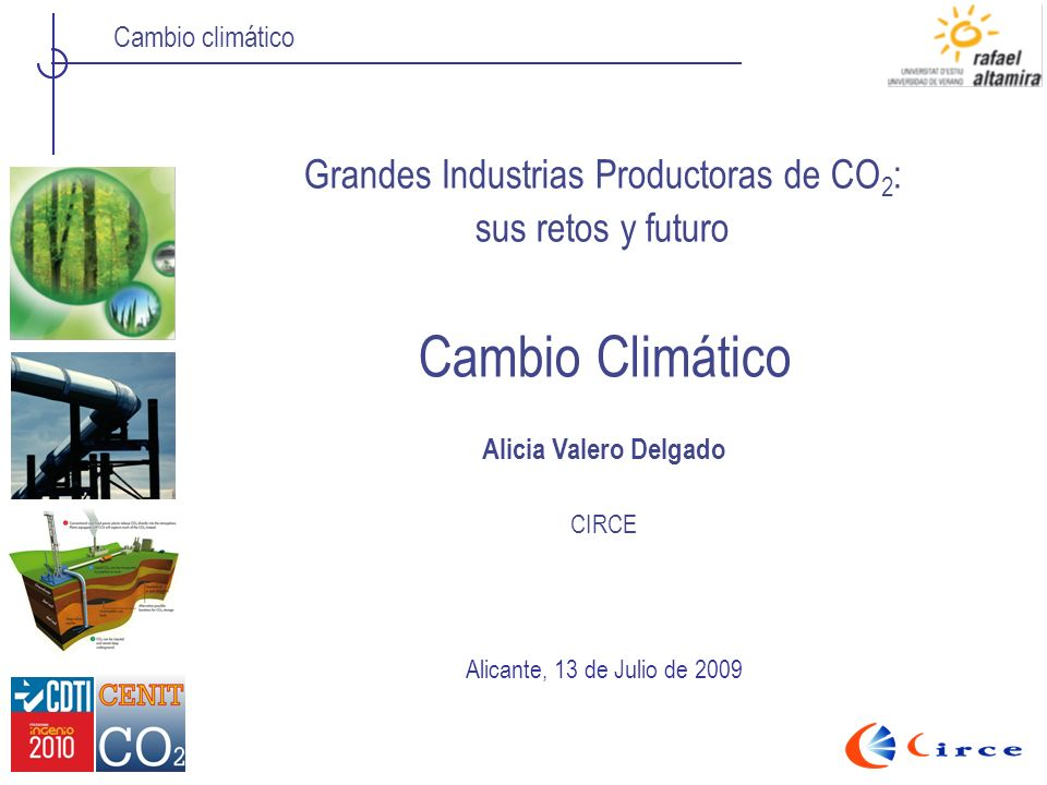 Grandes Industrias Productoras de CO2: sus retos y futuro