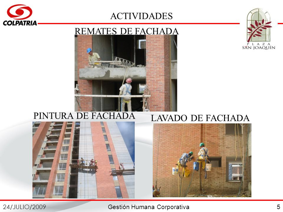 ACTIVIDADES REMATES DE FACHADA LAVADO DE FACHADA PINTURA DE FACHADA 5