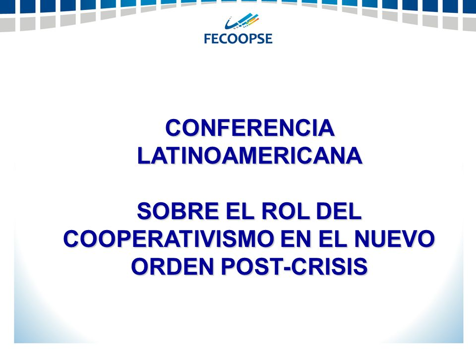 CONFERENCIA LATINOAMERICANA