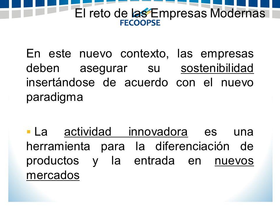 El reto de las Empresas Modernas