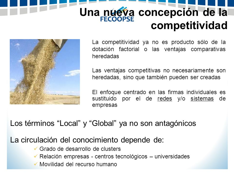 Una nueva concepción de la competitividad