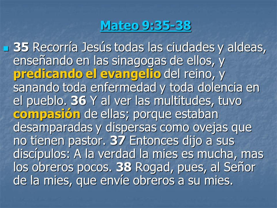Mateo 9:35-38