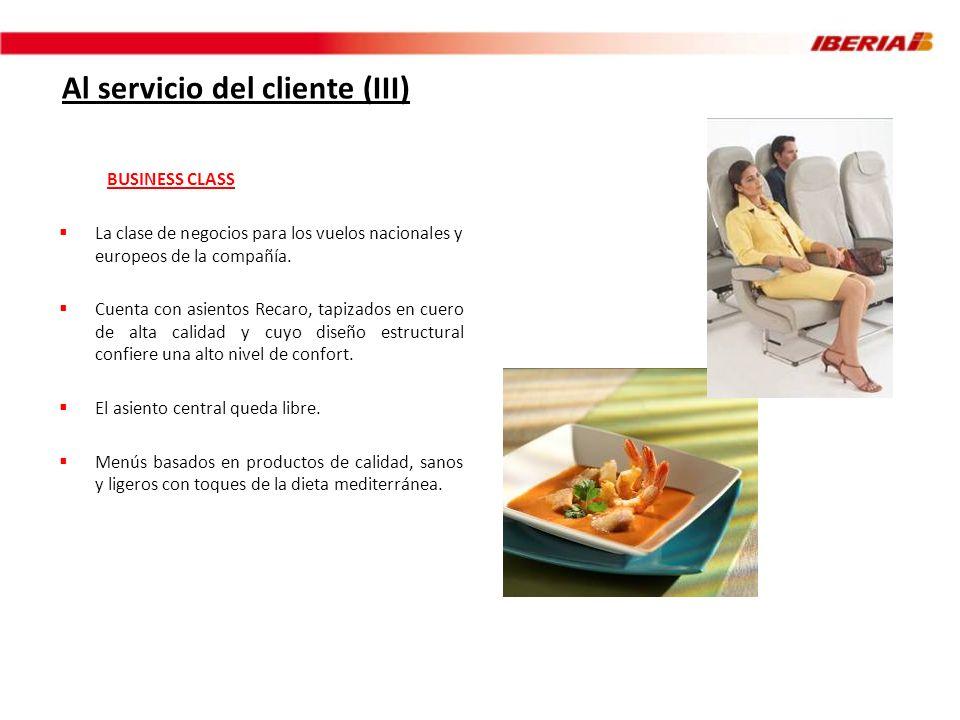 Al servicio del cliente (III)