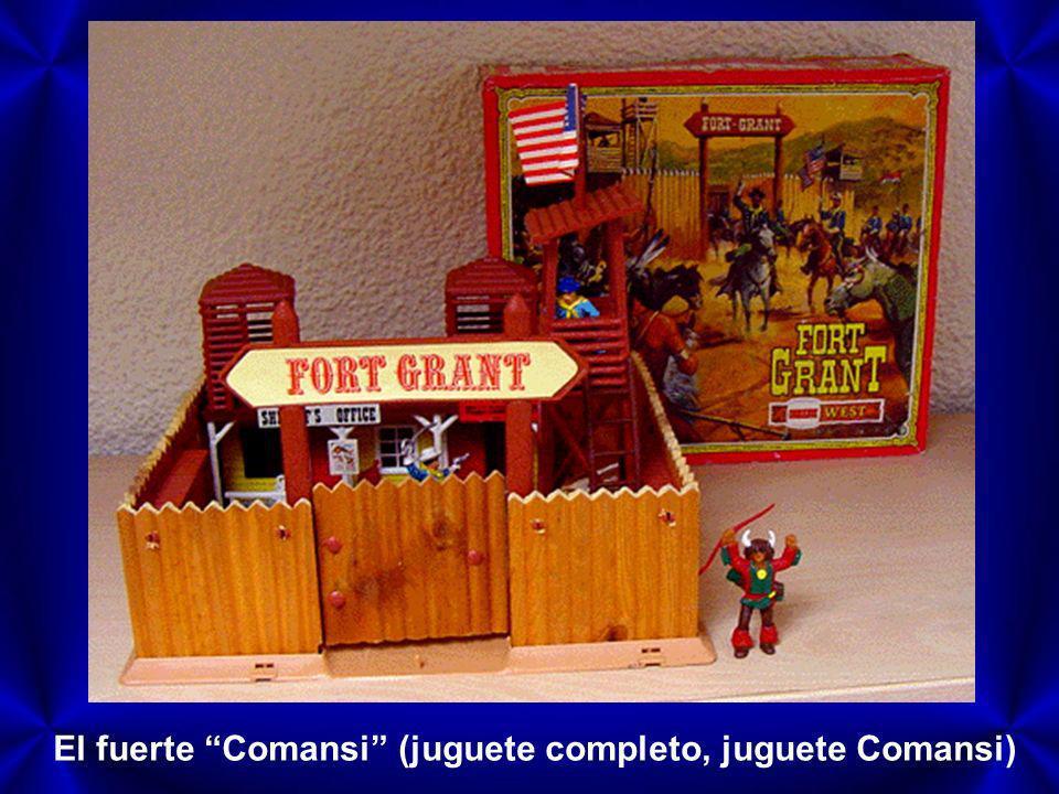 El fuerte Comansi (juguete completo, juguete Comansi)