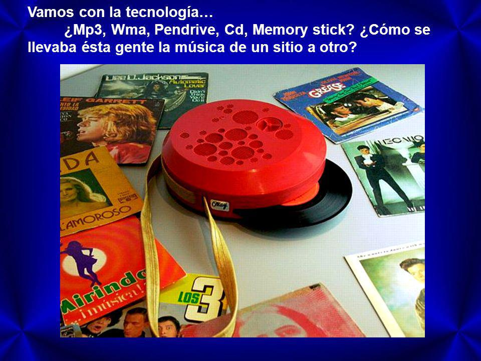 Vamos con la tecnología…