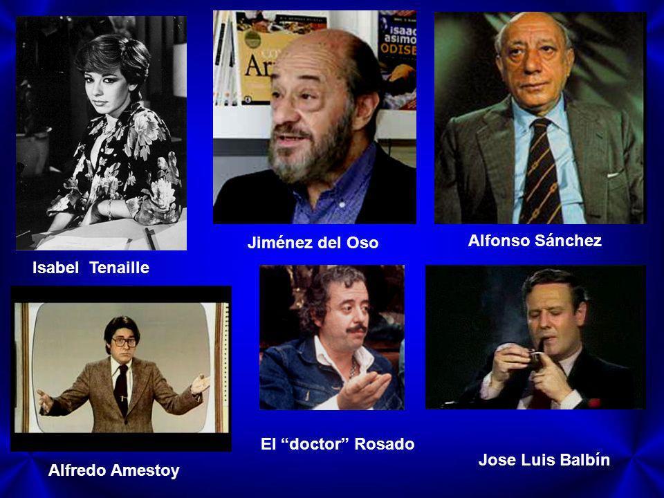 Jiménez del Oso Alfonso Sánchez. Isabel Tenaille.