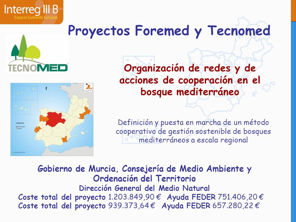 Proyectos Foremed y Tecnomed