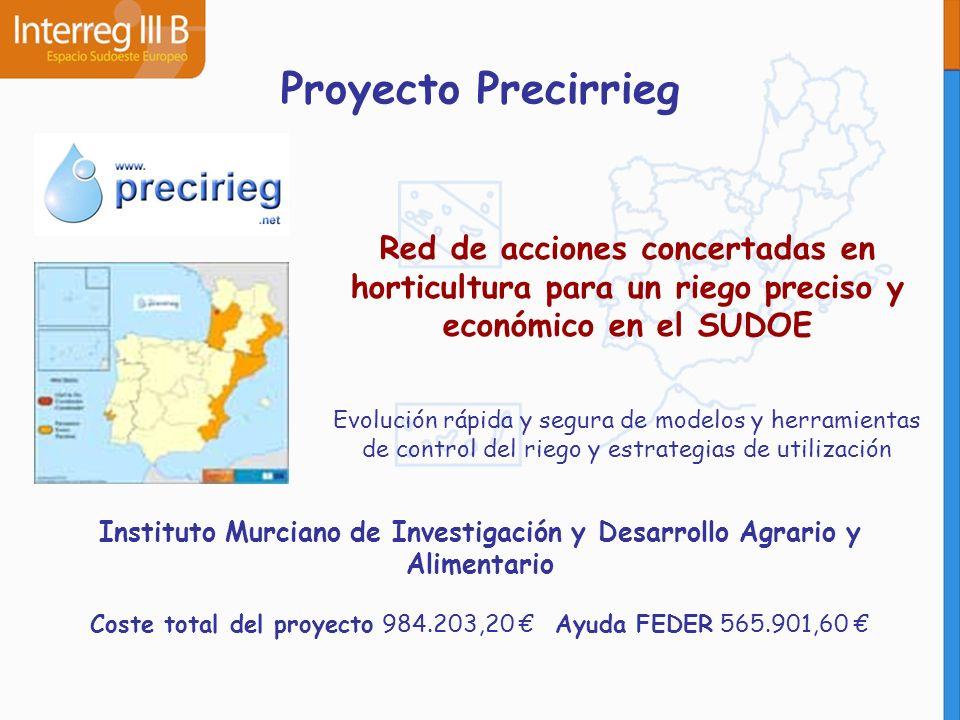 Instituto Murciano de Investigación y Desarrollo Agrario y Alimentario