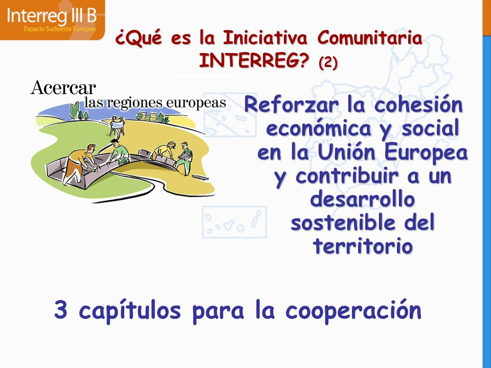 ¿Qué es la Iniciativa Comunitaria INTERREG (2)