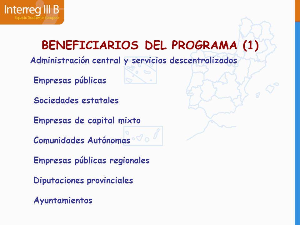 BENEFICIARIOS DEL PROGRAMA (1)