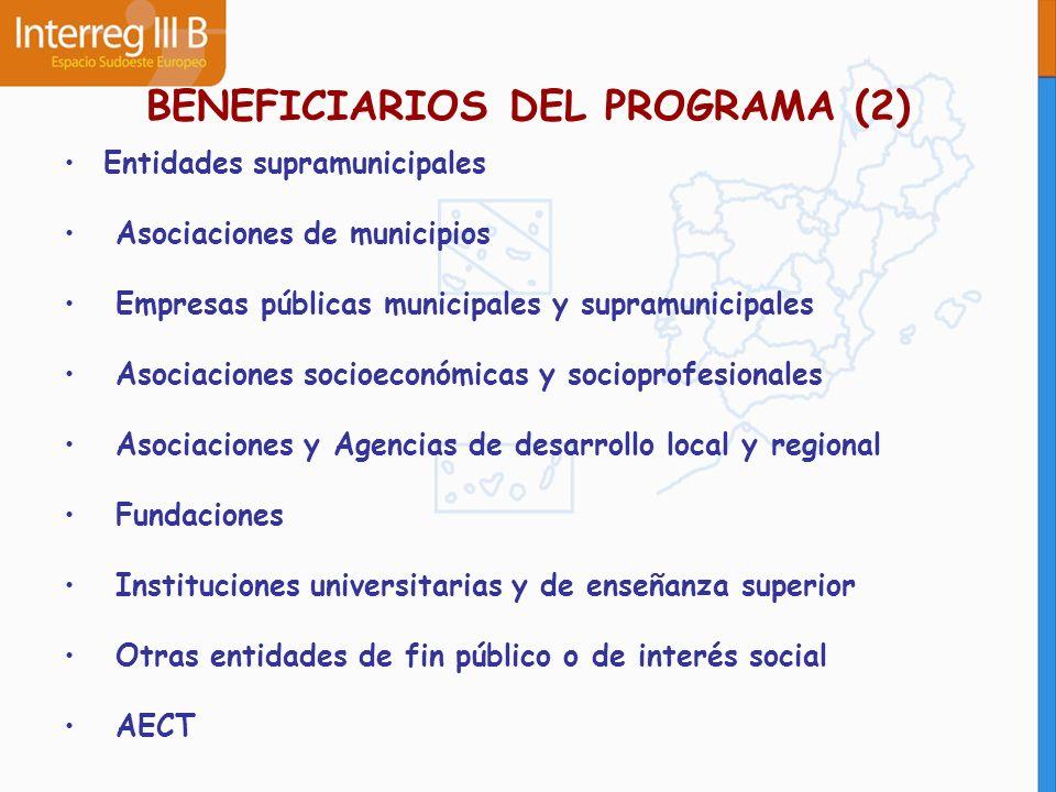 BENEFICIARIOS DEL PROGRAMA (2)