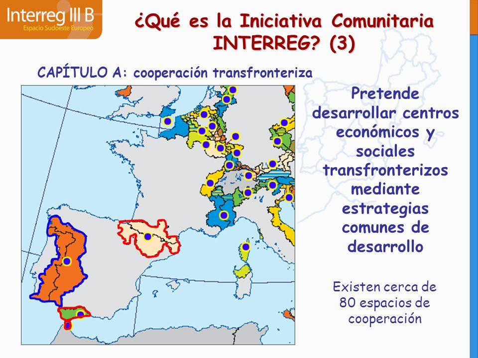 ¿Qué es la Iniciativa Comunitaria INTERREG (3)