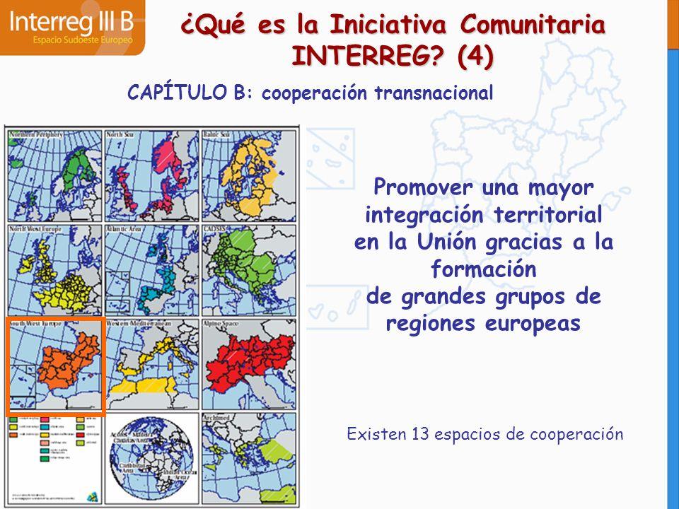 ¿Qué es la Iniciativa Comunitaria INTERREG (4)