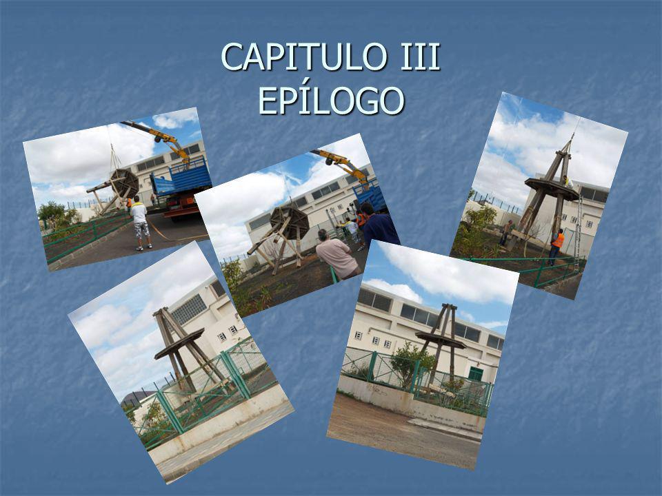 CAPITULO III EPÍLOGO