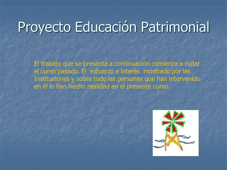 Proyecto Educación Patrimonial