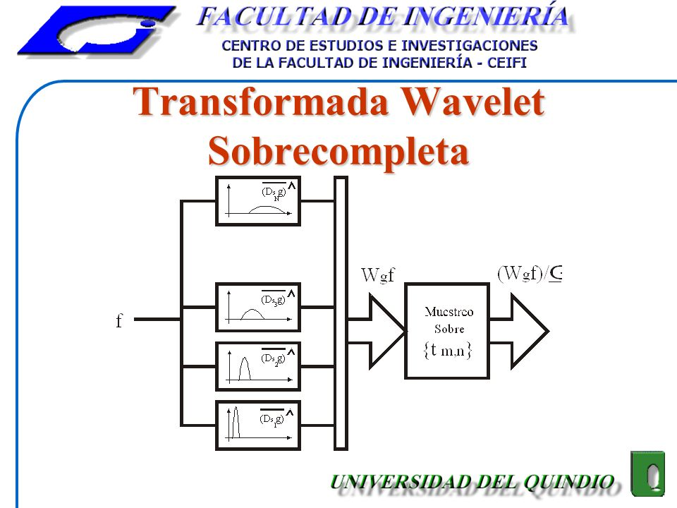 Transformada Wavelet Sobrecompleta