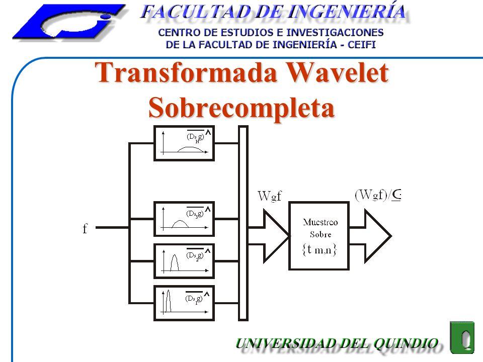 Transformada Wavelet Sobrecompleta