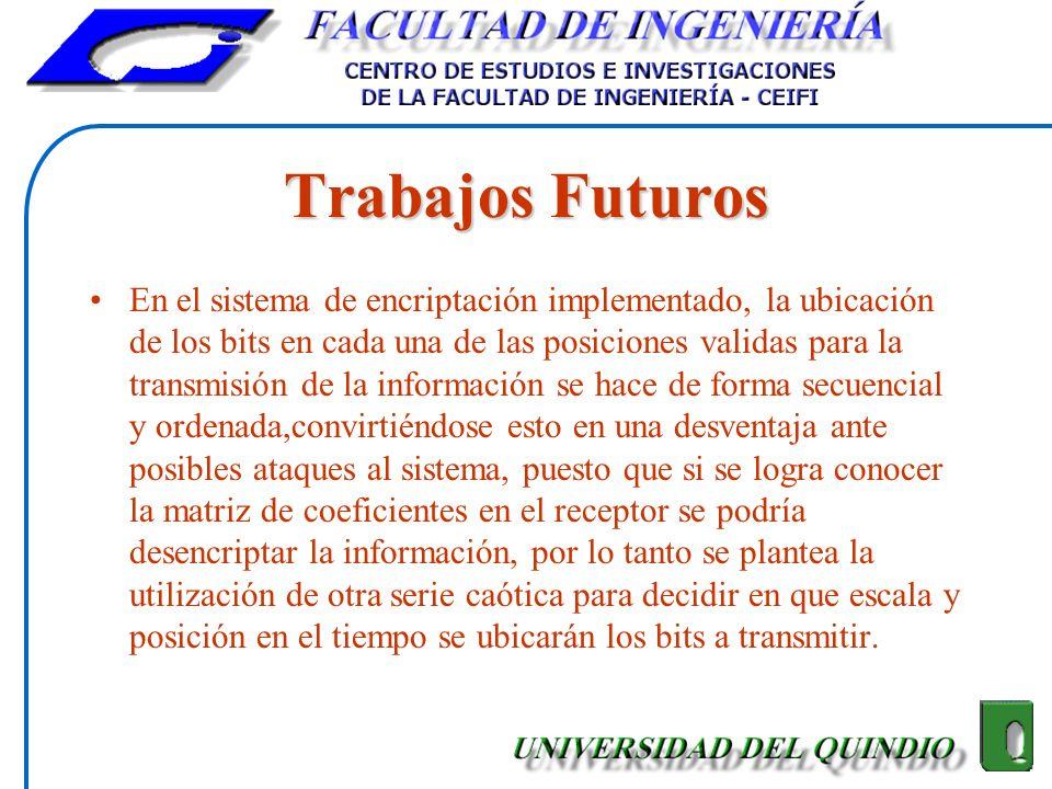 Trabajos Futuros