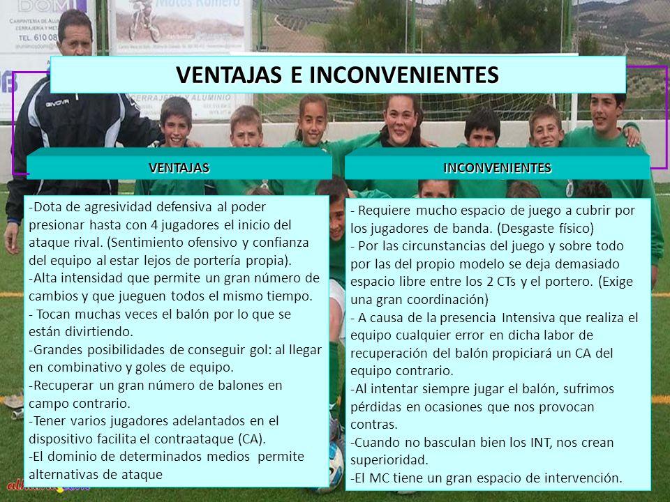 VENTAJAS E INCONVENIENTES