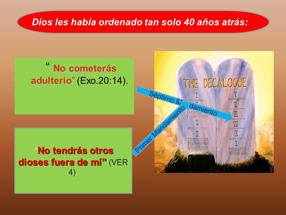 No cometerás adulterio (Exo.20:14).