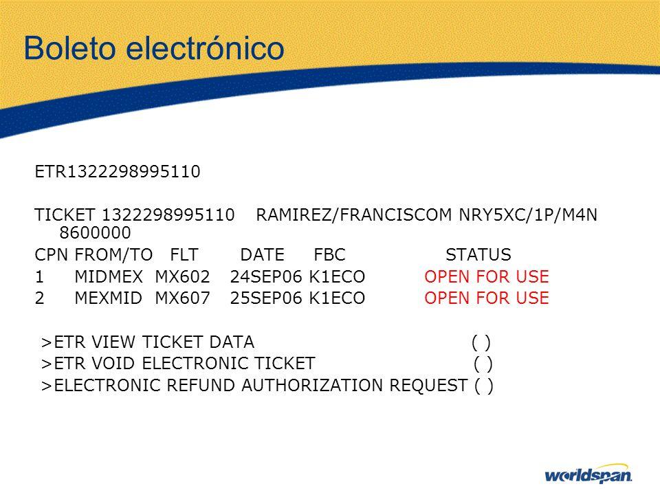 Boleto electrónico ETR1322298995110