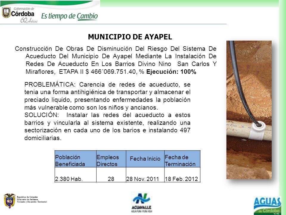 MUNICIPIO DE AYAPEL